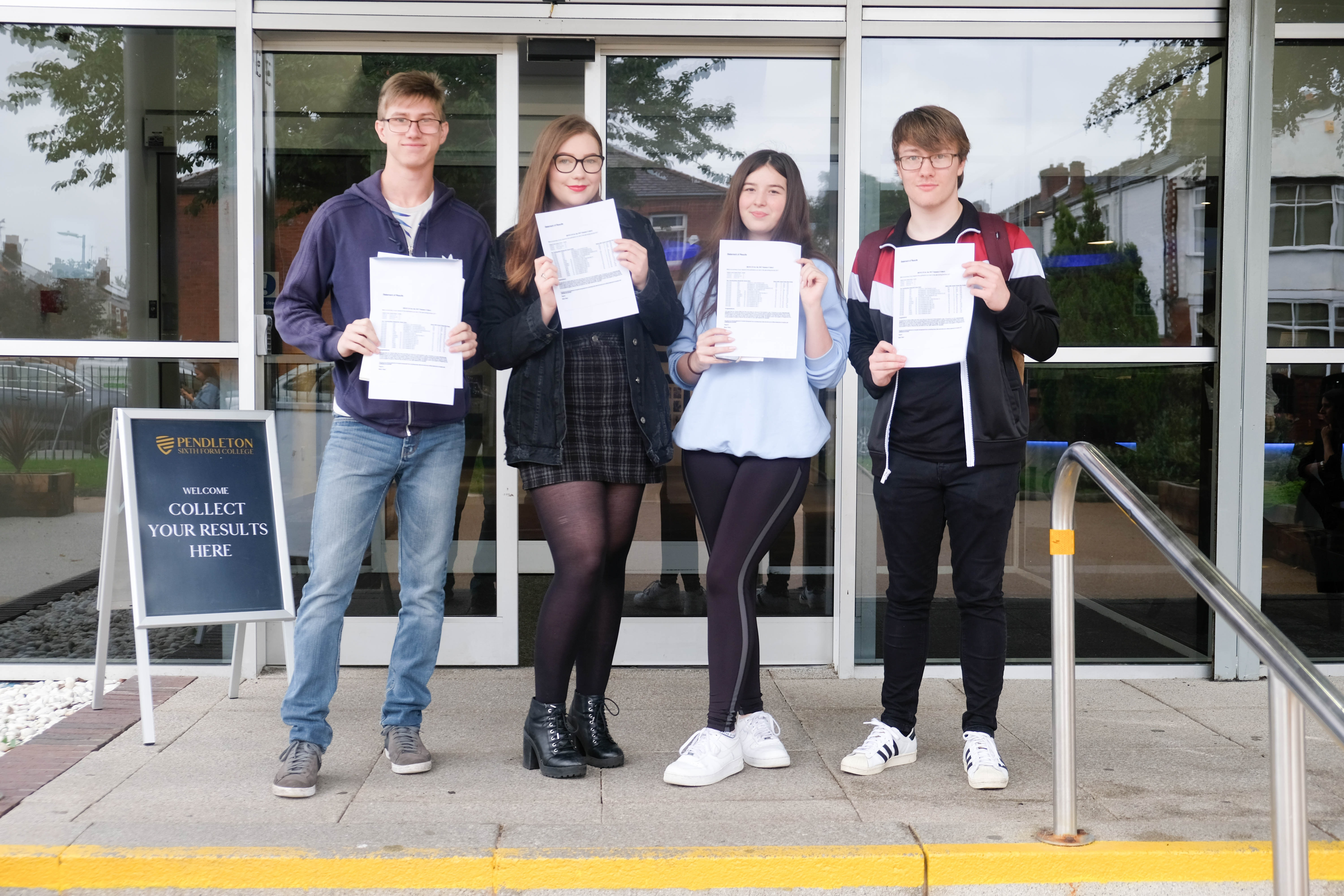 99% A-level pass rate for Pendleton Sixth Form College