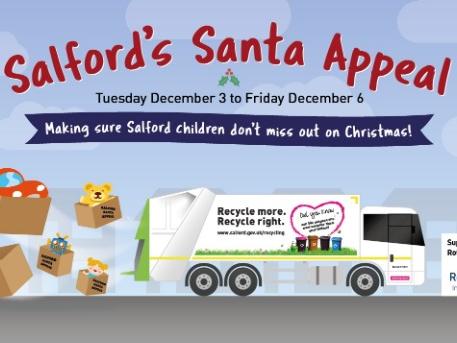 Salford's Santa appeal hits the road again