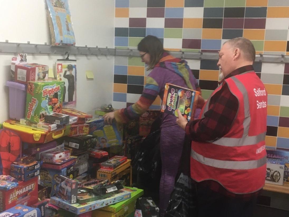 Salford steps up for Santa Appeal