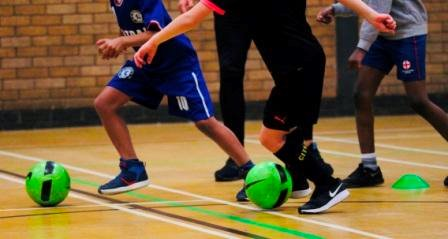 Football Coaching - Wednesdays (ages 8 - 11 year olds)