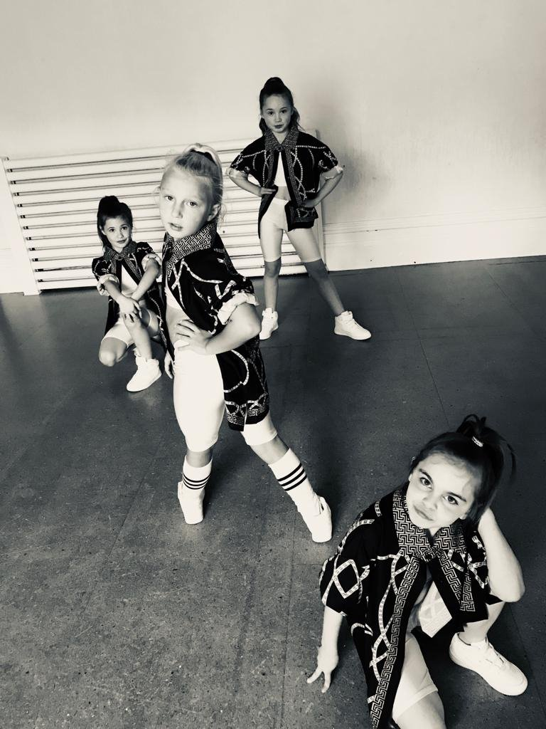 Street Dance - Wednesdays (ages 4 - 7 year olds)