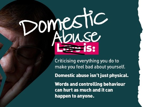 That's not love – it's domestic abuse